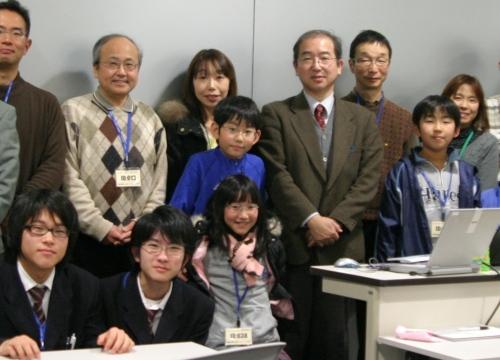 柴田先生と記念撮影。
