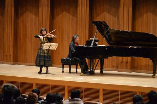 KCG創立50周年を記念して開かれた「中澤きみ子 ヴァイオリン・リサイタル ~千の音色に思いを寄せて~」