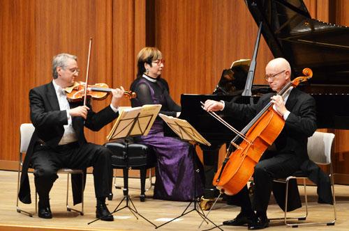 柔らかな調べがホールを包み込んだKCGグループ創立50周年記念クラシックコンサート「ウィーンのトリオ」