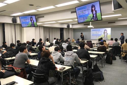 ゲーム関連企業の次のゲストの方々にお越しいただいて開催した,KCGデジタルゲーム学系学生を対象とした作品指導会=KCG京都駅前校