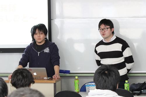 株式会社クラウドクリエイティブスタジオのお2人をお招きして開催したゲーム業界セミナーと作品指導(KCG京都駅前校)