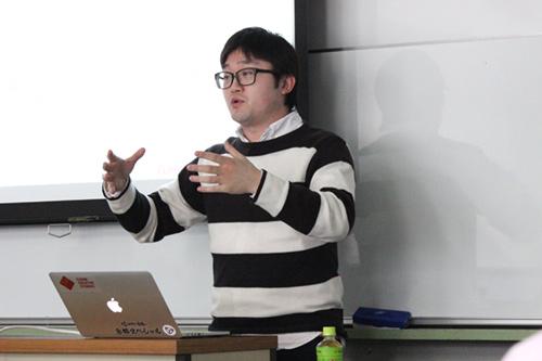小田様からは,これからゲームクリエイターを目指す学生に求められる能力や持つべき心構えについてアドバイスをいただきました
